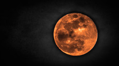 Fireball (jermythomas) Tags: moon red blood blue white cloud sky night eye scary rare