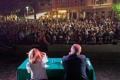 Lilli Gruber e Stefano Edel