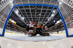 """Kansas City Mavericks vs. Cincinnati Cyclones, February 3, 2018, Silverstein Eye Centers Arena, Independence, Missouri.  Photo: © John Howe / Howe Creative Photography, all rights reserved 2018. • <a style=""""font-size:0.8em;"""" href=""""http://www.flickr.com/photos/134016632@N02/26245173668/"""" target=""""_blank"""">View on Flickr</a>"""