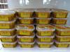 Tubs of Sohan Dessert - Mehromah Complex Qom Iran (WanderingPJB) Tags: accumulation flickruploaded yellow iran islamrepublic qom mehromahcomplex souvenirs tubs sohandessert