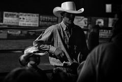 End of a rodeo, Montana (rvjak) Tags: montana usa etatsunis rodeo cowboy d200 black white noir blanc bw hat father père fils boy kid son nikon