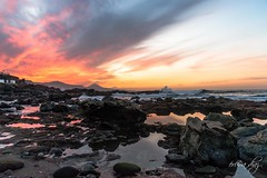 SUNSET for Montse (eri - caperu) Tags: verde sunset bañaderos canarias españa sony a99
