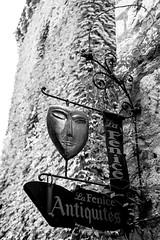 Behind The Scene (Jean Boris HAMON) Tags: smileonsaturday blackwhite blackandwhite fe2870mmf3556oss france mask provence saintpauldevence signs sonya7mkii provencealpescôtedazur fr fav10