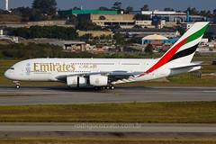 A6-EOC (rcspotting) Tags: a6eoc airbus a380800 emirates airline gru sbgr