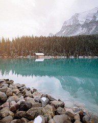 Say Yes To Adventure  🌎 Lake Louise, Alberta, Canada |  Toth Media (adventurouslife4us) Tags: adventure wanderlust landscape travel explore outdoors winter nature photography snow lake mountains louise alberta canada