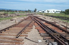 NRM - track work (p1001936) (ChrisBearADL) Tags: nrm portdock train railway australian museum rail railways south australia trains southaustralia