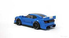 Ford GT350 (PleaseYesPlease) Tags: moc speedchampions lego ford mustang gt gt350 350 burnout leeschulz