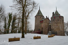 Castell Coch (geraintparry) Tags: castell coch red castle cardiff tongwynlais geraint parry geraintparry snow snowing south wales cymru