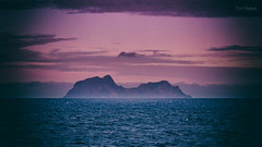 The Secluded Island (Normann Photography) Tags: thenorthsea faraway harshenvironment inhospitable island mist mystic remote secluded secretisland nordland norway no pink purple