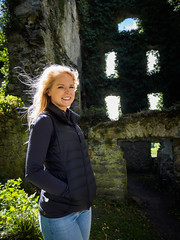 Meet the ancestor of the Blake castle (Kayhadrin) Tags: blakecastle chelseathompsonsfriend countygalway galwaycounty menlocastle republicofireland castle ireland visall galway