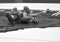 BRO-STA 149 2018-01-13 DSC_8156 bw (bix02138) Tags: brownuniversity brownbears stanforduniversity stanfordcardinal pizzitolasportscenter pizzitolasportscenterbrownuniversity providenceri january13 2018 wrestling sports intercollegiateathletics athletes jocks ©2018lewisbrianday 149pounds 149 zachkrause jakebarry