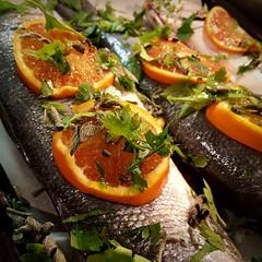 Branzino all'arancia (Serino Antonello) Tags: secondopiatto pesce arancia branzino branzinoalforno buoncibo fattoincasa