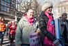 2018 Women's March - Maarchers (UrbanphotoZ) Tags: womensmarch marchers istandwithplannedparenthood wethepeople dissentispatriotic aclu pinkscarves resist trump antitrump 2018 upperwestside manhattan newyorkcity newyork nyc ny