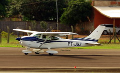 PT-JGZ (celso.mazzei) Tags: cessna air aeroporto avião aeronave aviação aerodromo aérea aircraft airplane aeronáutica aviation