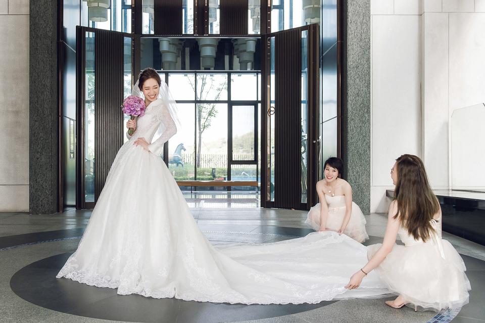 婚攝 高雄林皇宮 婚宴 時尚氣質新娘現身 S & R 095