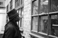 Coco Malabar. (35mm) | Ilford Pan 100. (samuel.musungayi) Tags: film 35mm 24x36 135 analog argentique pellicule pelicula negativo negative négatif monochrome mono black white noir blanc et photography photographie fotografia samuel musungayi life light urban portrait candid kongo zaïre brussels bruxelles olympus om1 zuiko 50mm ilford pan 100