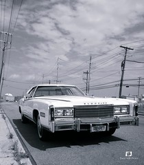 caddy (Cars On My Way) Tags: cadillac eldorado caddy cadillaceldorado v8 white blackandwhite photog photography automotive cars car carshow newyo newyork