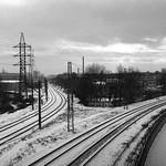 Riga rail lines