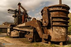 Kaffeebecher (Carismarkus) Tags: stahlwerk maxhütte abandonedplace lostplace urbex deutschland rusty rost steelworks