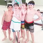 School mates. Happy 9th Birthday Xandir! #poolparty #bringonspring thumbnail
