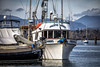 Pacific Angel (Paul Rioux) Tags: marine commercial fishboat boat ship vessel trawler pacificangel cowichan bay fishermans wharf pier dock scenic marina mountains clouds ocean sea water outdoor sky prioux