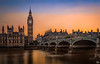 Big Ben & Westminster Bridge at Sunset (mark.iommi) Tags: palaceofwestminister bigben westministerbridge london unitedkingdom england greatbritain river thames sunset dusk houseofcommons gb uk goldenhour