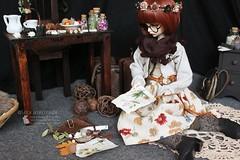 The Botanist - morigirl (Nyussz-Design) Tags: bjd balljointeddoll bjdoll bella abjd asianballjointeddoll doll darkmori darkmorigirl dollchateau dollchateaubella bjddoll kid kidbella mori morigirl morikei darkmorikei deergirl deer botanist