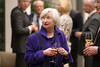 Farewell dinner for Federal Reserve Chair Janet Yellen - 9 January 2018 (European Central Bank) Tags: 01 2018 ecb ecbmainbuilding europeancentralbank executiveboard federalreserve frankfurtammain mariodraghi janetyellen