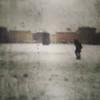 Snowman (#mimesi) Tags: piazza uomo figura case neve vetro filtronaturale bologna
