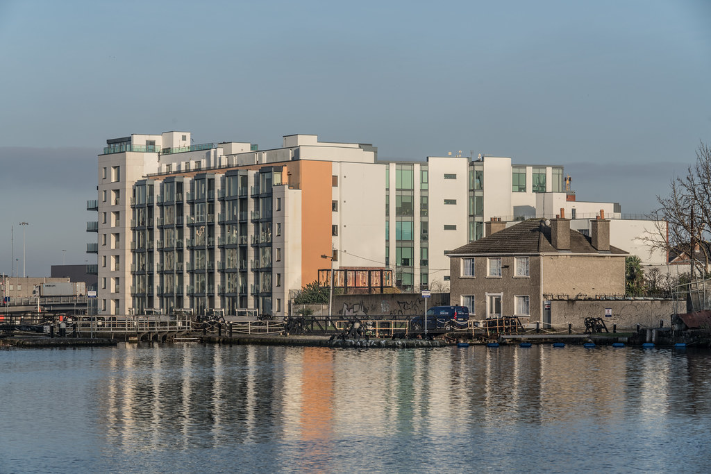 GRAND CANAL DOCK AREA OF DUBLIN [PHOTOGRAPHED 11 JANUARY 2018]-135431