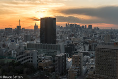 180112 Bunkyo Civic Center-01.jpg (Bruce Batten) Tags: night locations sunsets urbanscenery honshu buildings atmosphericphenomena cloudssky subjects tokyo japan bunkyōku tōkyōto jp