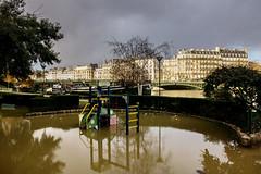 Inondation - Paris - (Noir et Blanc 19) Tags: paris inondation seine crue sony a77