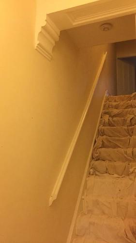 plastercore.co.uk Hallway & Stairs Before