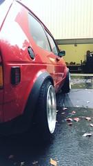 Rabbit got some new new (Amir Hamdi) Tags: mk1 rabbit gti volkswagen gtivolkswagen klutch sl1 stance lowered low tornado red car show