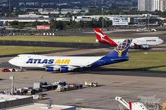 N409MC 5Y B747F 16R YSSY-2414 (A u s s i e P o m m) Tags: qantas qf atlasair 5y giant boeing b747f mascot newsouthwales australia au sydneyairport syd yssy