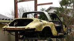 Porsche 911 Targa (vwcorrado89) Tags: porsche 911 targa carrera rust rusty abandoned wrekc old car