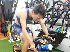 Jaime Rodado triatlón Indoor team clavería triatlón World 2