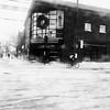 La piste cyclable pour lui tout seul... (woltarise) Tags: rachelest rue montréal rosemont cycliste hiver froid neige autobus streetwise