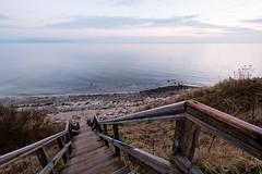 An der Steilküste (lichtschacht-kiel) Tags: kiel balticsea ostsee treppe fuji kielerförde