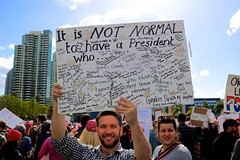 It Is Not Normal (Art By Pem Photography: Tao Of The Wandering Eye) Tags: canon fineartphotography canoneosrebelsl1 canonefs24mmf28stm sandiego womensmarch protest usa california politics political march