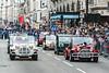 180101 3999 (steeljam) Tags: steeljam nikon d800 london new year day parade days lnydp mini moke club
