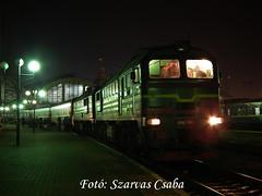 UZ 2M62-1014 Lviv, 2017.12.29 (Csaba Szarvas) Tags: 2m62 m62 sergej taigatrommel lviv ukraina ukrajna lemberg passenger trains uz 2m621014