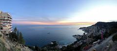 2018 winter on the Riviera [XVII] (Olivier So) Tags: france frenchriviera riviera sunset sky clouds monaco montecarlo vistapalace panorama