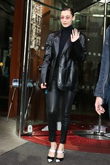 Strict Business Woman (Leatherlover987) Tags: bella hadid out about haute couture fashion week paris france 24 jan 2018 model female personality 68183063