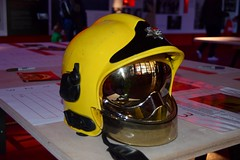 London Fire Brigade MSA Gallet F1 Helmet (markkirk85) Tags: london fire engine appliance lfb brigade msa gallet f1 helmet londons current 2010 present