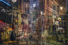 Midnight in Paris (Alessio Trerotoli) Tags: paris midnight montmartre lights abstract art arte fineart life night urban city street photo photography cityscape mood magic