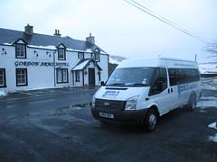 Gordon Arms (cessna152towser) Tags: fordtransit minibus cooks