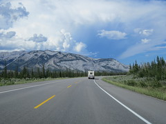 Driving between Jasper and Hinton, Alberta on Canada Day (jimbob_malone) Tags: 2017 highway16 alberta