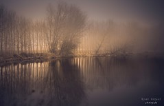 Reflejos en la niebla (raulmiguelmantilla) Tags: tamron mist fog niebla misterio reflejo reflection atmosphere winter