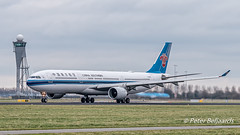 B-5965   Airbus A330-300 - China Southern Airlines (Peter Beljaards) Tags: aviationphotography schiphol amsterdam eham nikond5500 b5965 airbusa330300 a330 airbus chinasouthernairlines polderbaan rwy36l